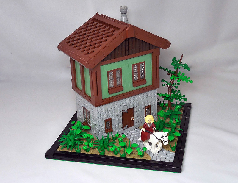 LEGO® MOC by Vitreolum: House in the Woods
