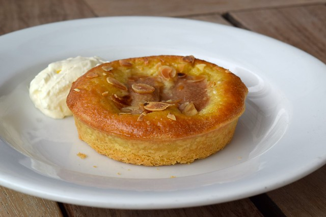 Pear Tart du Jour at The Boundary Rooftop, Shoreditch | www.rachelphipps.com @rachelphipps