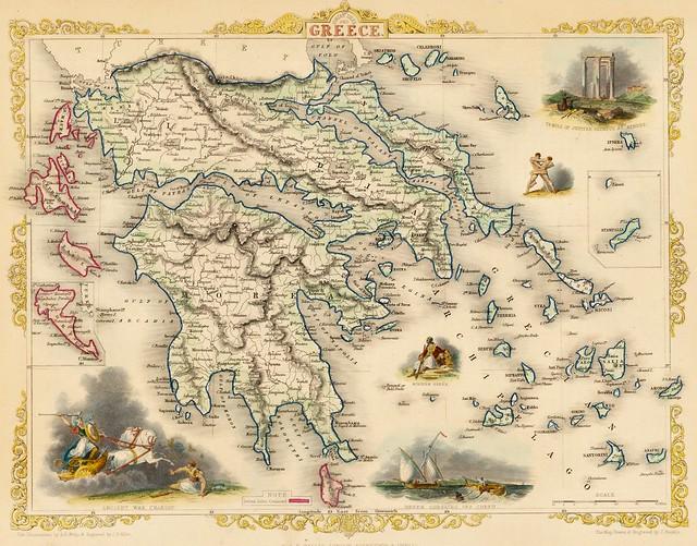 John Tallis - Ionian Isles and Greece (1851)