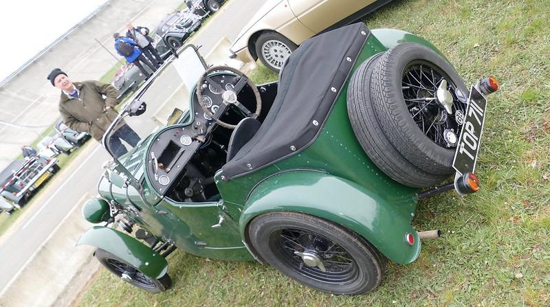 Austin Seven green british - Vintage Revival 2017 34400417402_3912d35eee_c