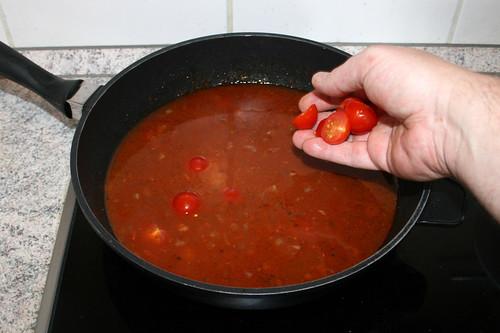 41 - Kirschtomaten dazu geben / Add cherry tomatoes