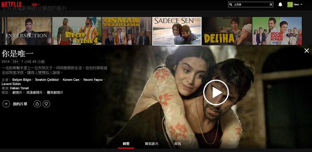 土耳其電影-你是唯一Sadece Sen