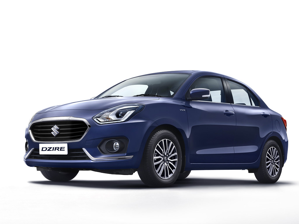 New-Dzire-front-side
