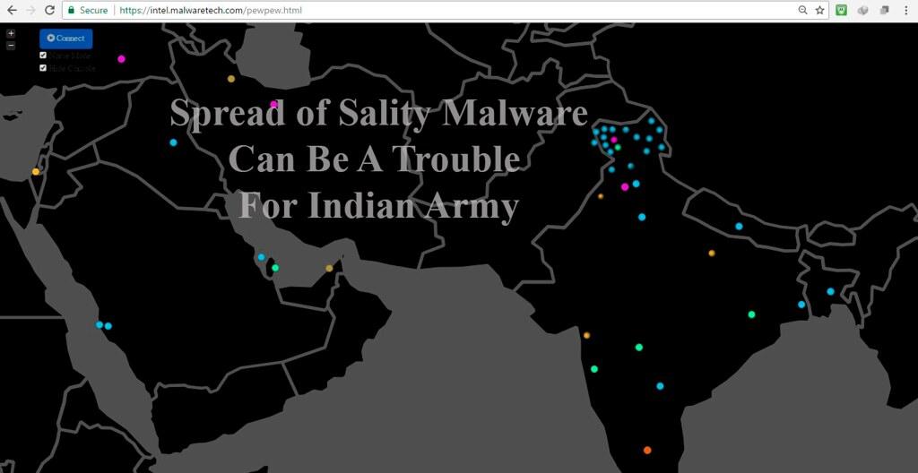 Sality in Kashmir