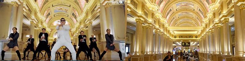 psy venetian main lobby
