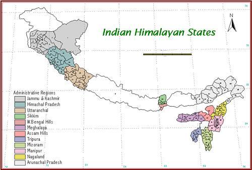 भारतीय हिमालय क्षेत्र