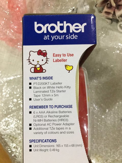 brother labeller 015