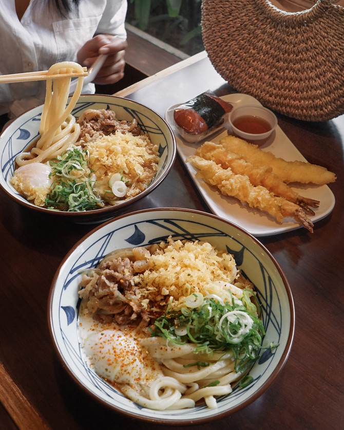 marukame udon where to eat in honolulu hawaii