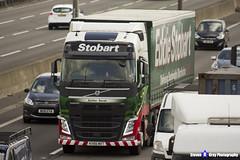 Volvo FH - KX66 MXT - H4669 - Esther Sarah - Eddie Stobart - M1 J10 Luton, Bedfordshire - Steven Gray - IMG_8048