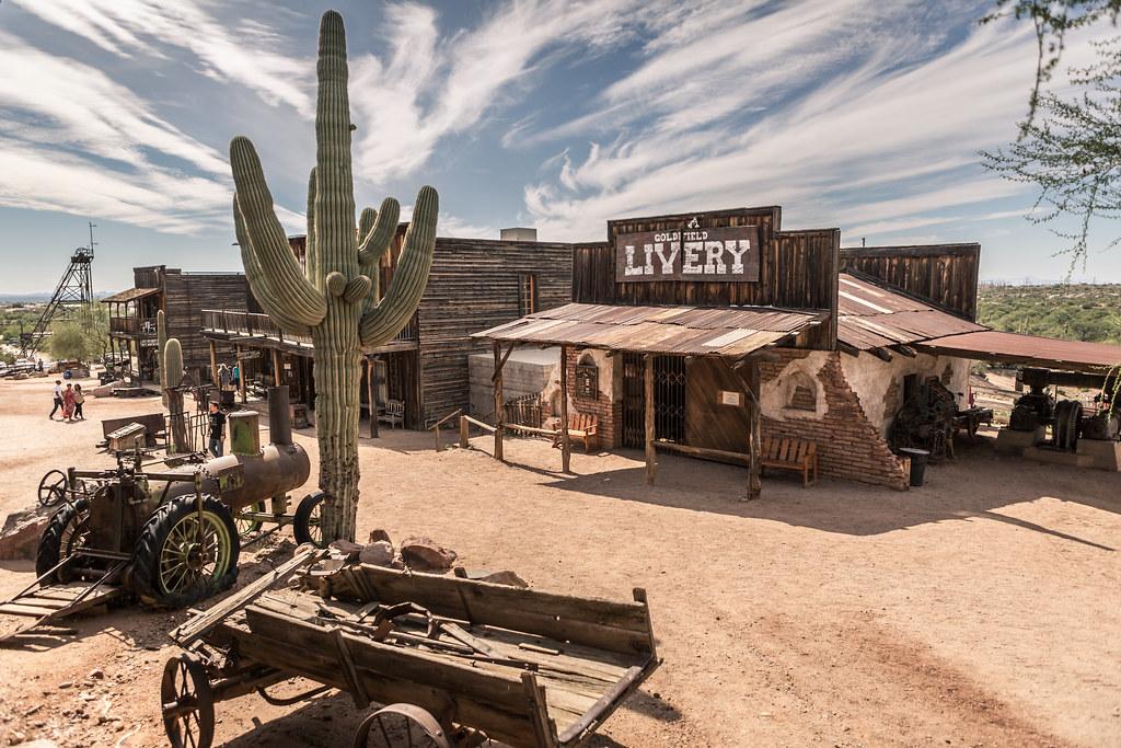 Goldfield Ghost Town, AZ