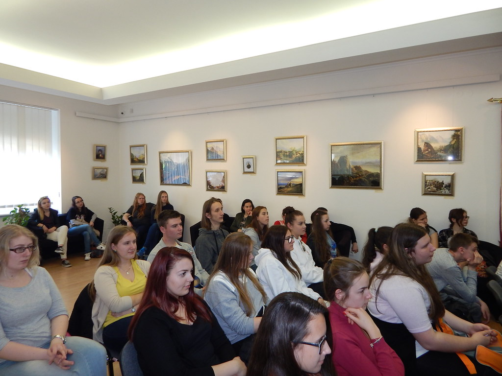Лекция в Русском центре, Братислава