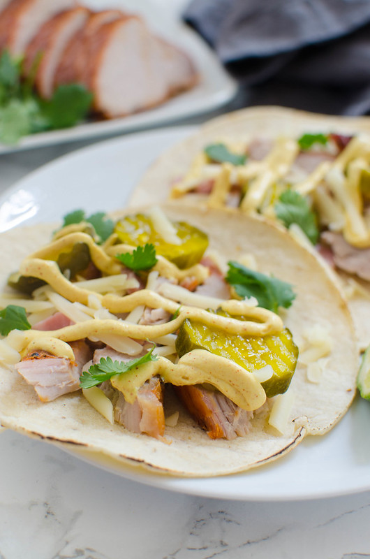 Cubano Tacos - everything you love about a Cuban sandwich as a taco! Perfect way to switch up Taco Tuesday!