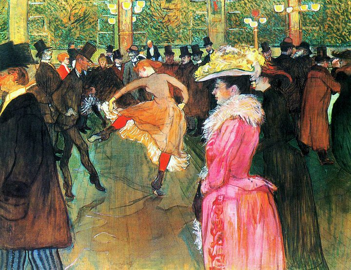 Moulin Rouge - T-Lautrec