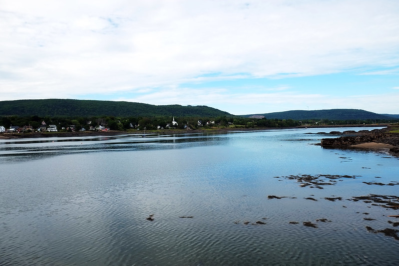 Annapolis River from the Annapolis Royal Wharf