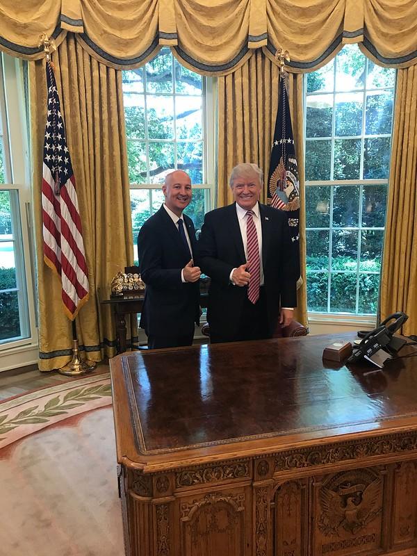 President Trump, Gov. Ricketts Discuss Nebraska Energy Innovation during White House Roundtable