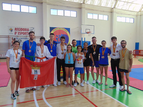 Club Pako´s Gym Campeonato de España de Clubes en artes marciales