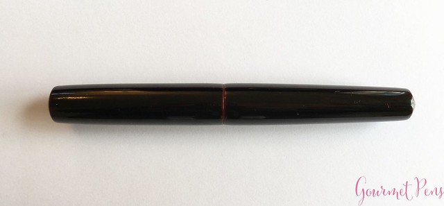 Review Nakaya Piccolo Cigar Kuro-Tamenuri Fountain Pen @Iguana_Sell 7
