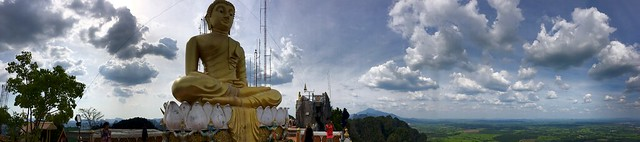 Tiger Cave Temple Mountain Panorama