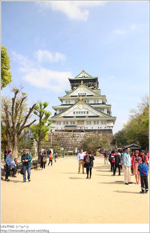 大阪城公園-天守城