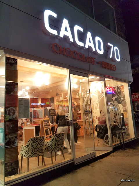 Cacao 70 Queen West storefront