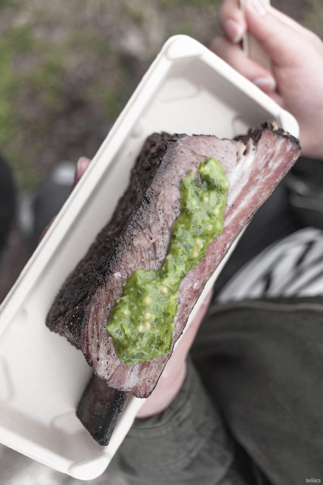 lavlilacs Smorgasburg Carnal Beef Short Rib and Bone Marrow