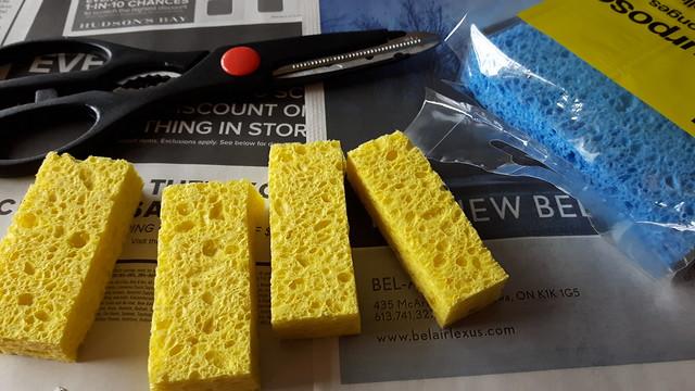 Sponge Painted Onesies 8