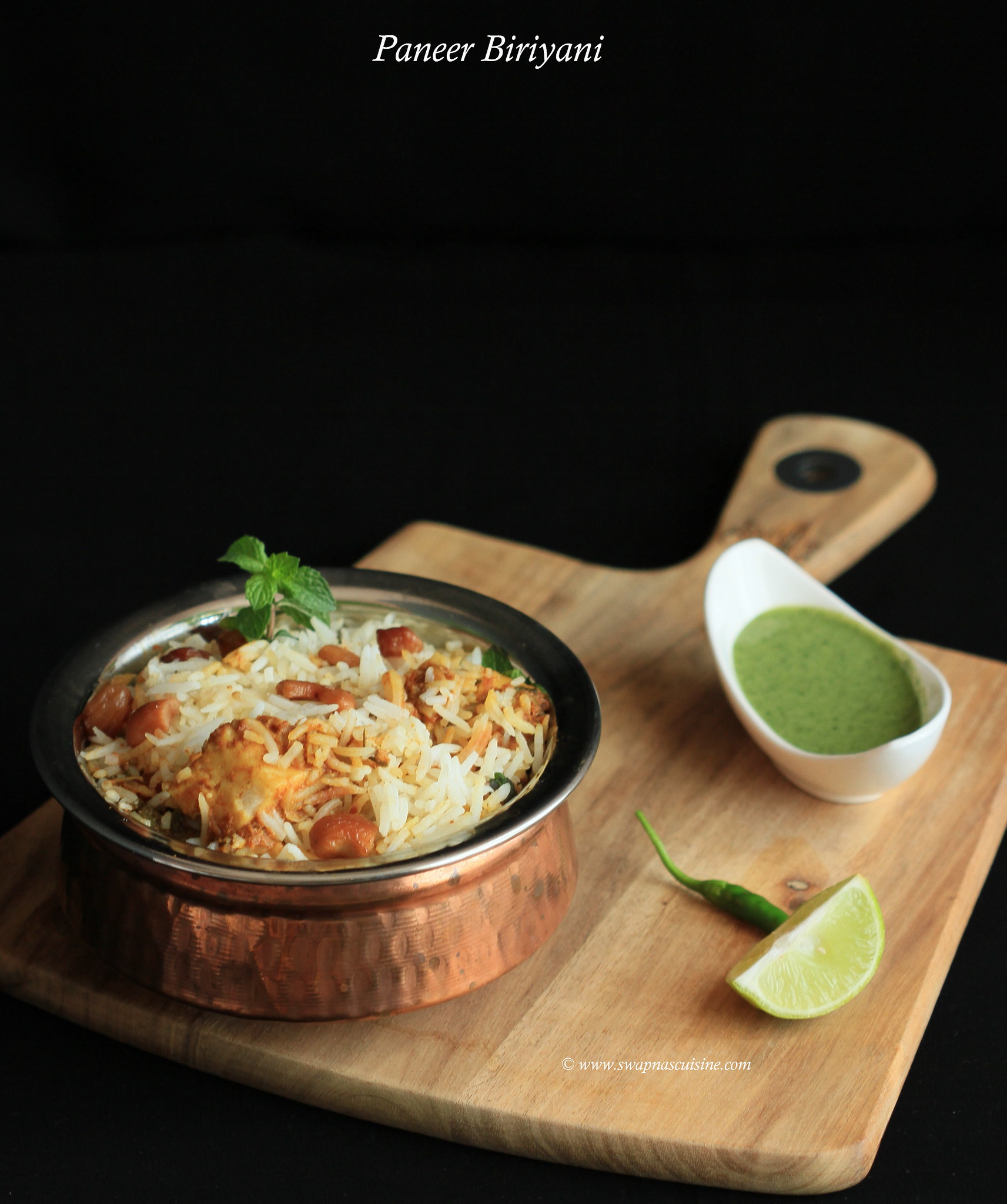 Cottage Cheese Biriyani Recipe