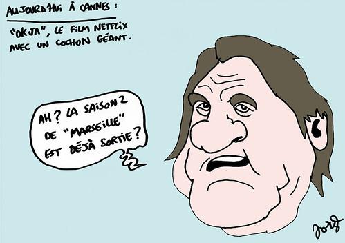 16_CANNES_Okja cochon Depardieu