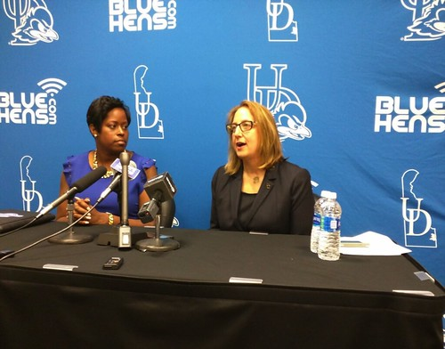 Newly tapped women's basketball coach leaves Georgetown for Delaware
