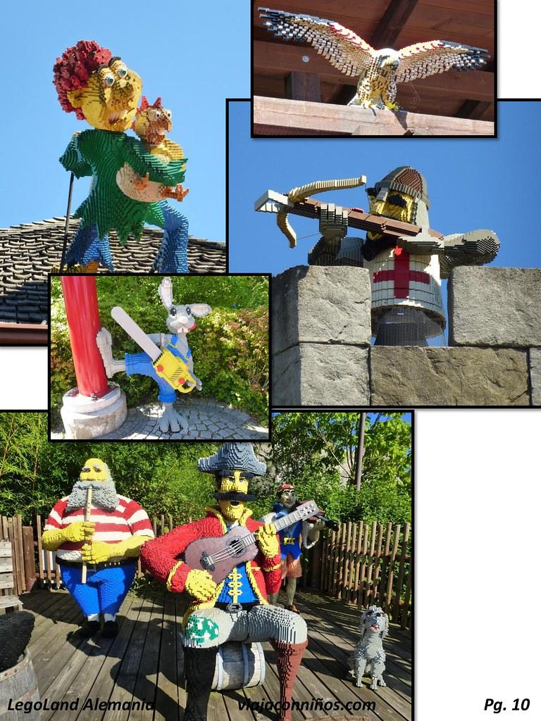 Legoland Alemania, el parque hecho de piezas.