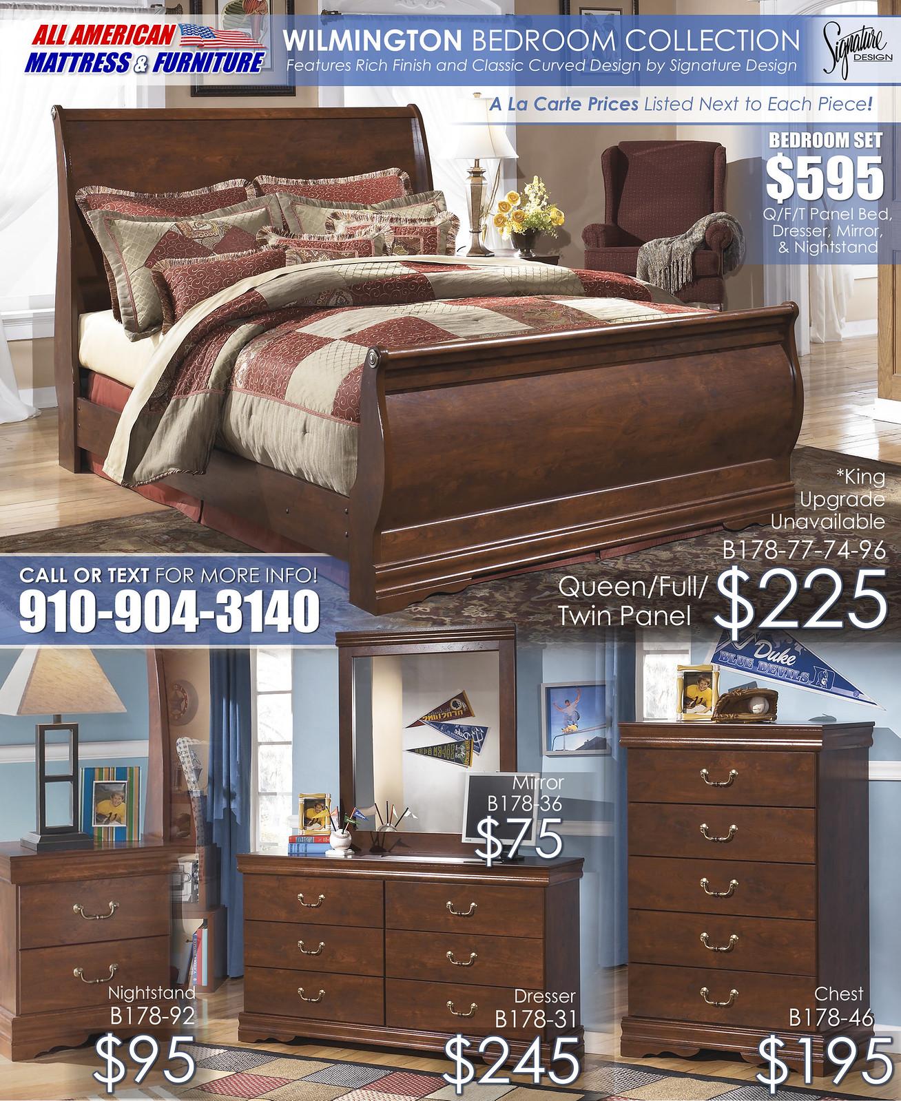 Awesome Wilmington Bedroom A La Carte