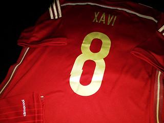 FKZ17023 | SPAIN HOME 2014-15 | #8 XAVI