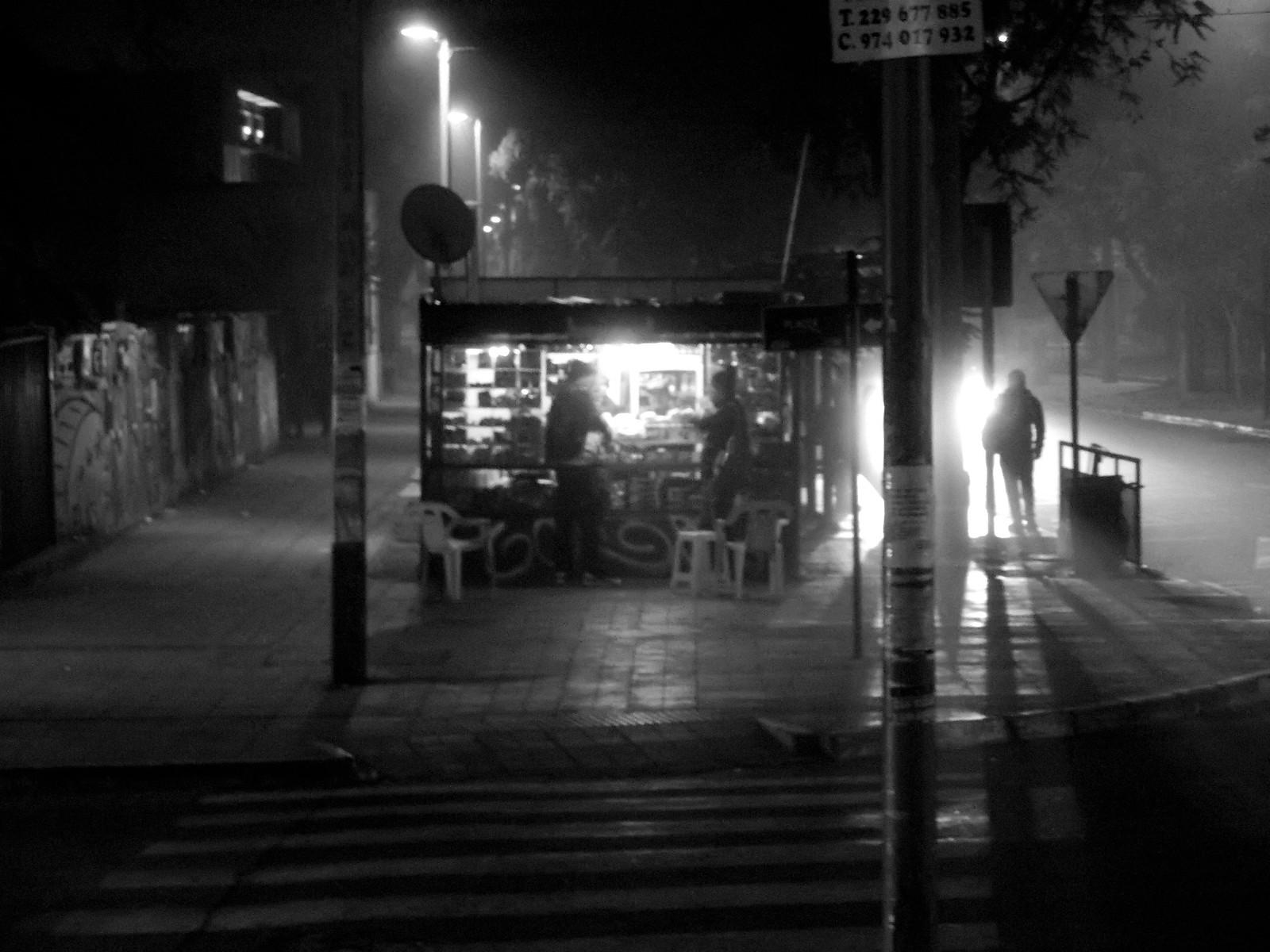 Santiago de madrugada