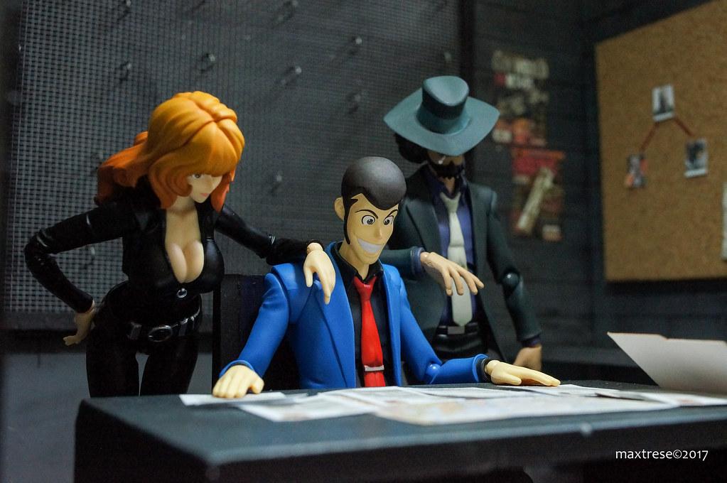 SHF Lupin, Jigen and Fujiko