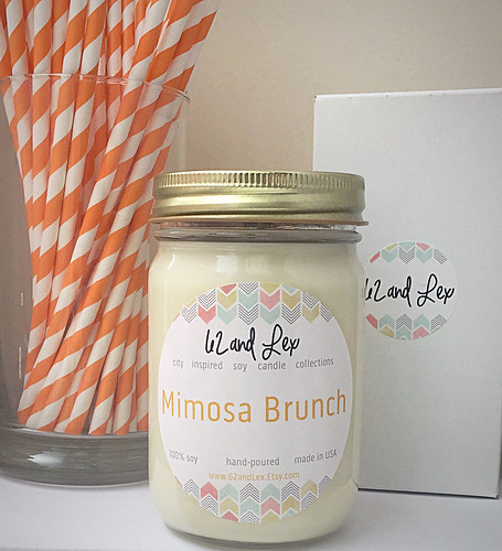 Mimosa Brunch Candle