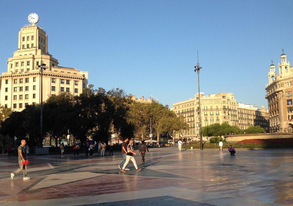 Barcelona tänään