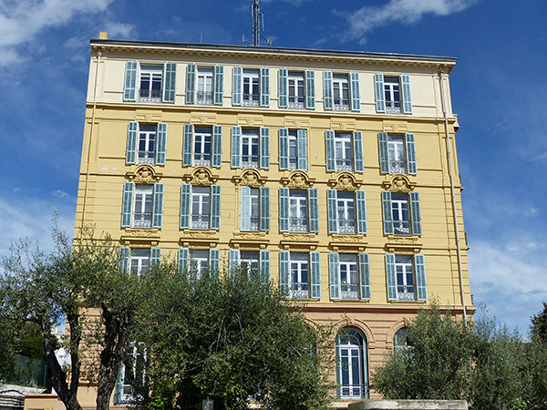 l'hôpital de Cimiez