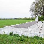 Вторая могила в с.Маневцы. Жертвам Холокоста