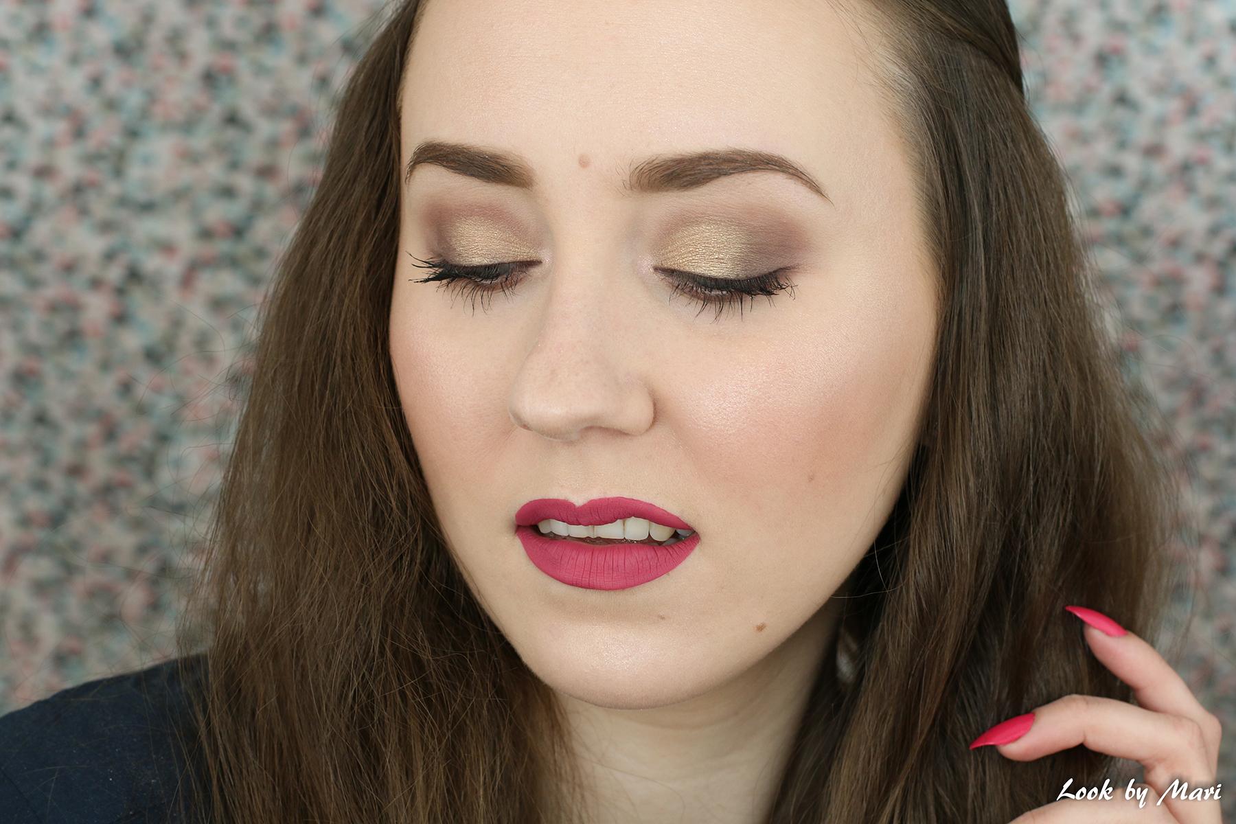 7 nyx love contours all palette review kokemuksia makeup looks ideas inspo inspiration gold