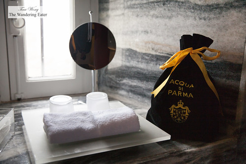 Azqua di Parma bath products | by thewanderingeater