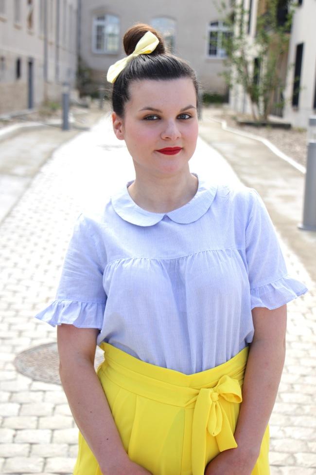 jupe_culotte_jaune_panier_pompons_conseils_blog_mode_la_rochelle_4