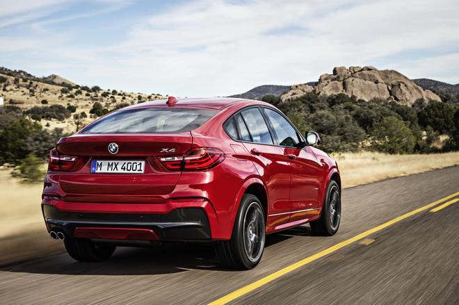 [新聞照片二] BMW X4 xDrive20i M Sport限量100台剽悍上市