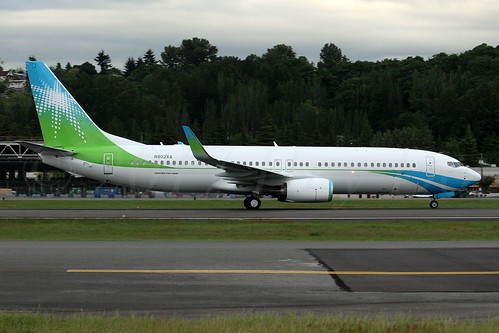 Boeing 737-8AL(WL) Saudi Aramco N802XA LN6404