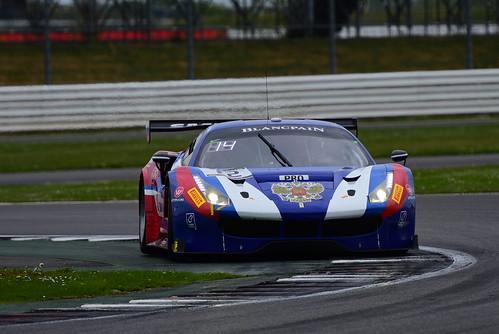 Miguel Molina - Victor Shaytar - Davide Rigon, Ferrari 488 GT3, Blancpain GT Series Endurance Cup, Silverstone 2017
