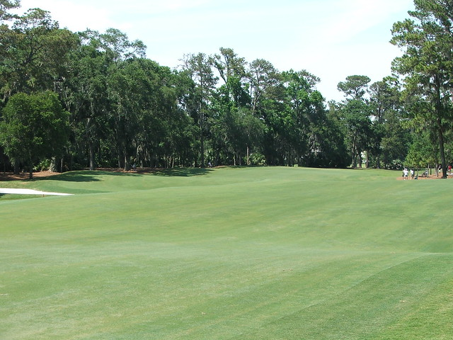 2nd fairway looking back from green