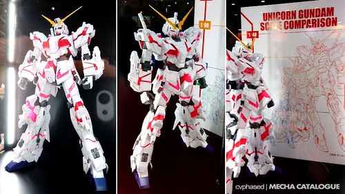 56th Shizuoka Hobby Show - 1/48 Mega Size Model Unicorn Gundam [Destroy Mode]