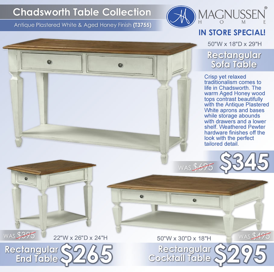 Chadsworth Magnussen 3 Pack