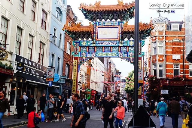 2016 London - China Town