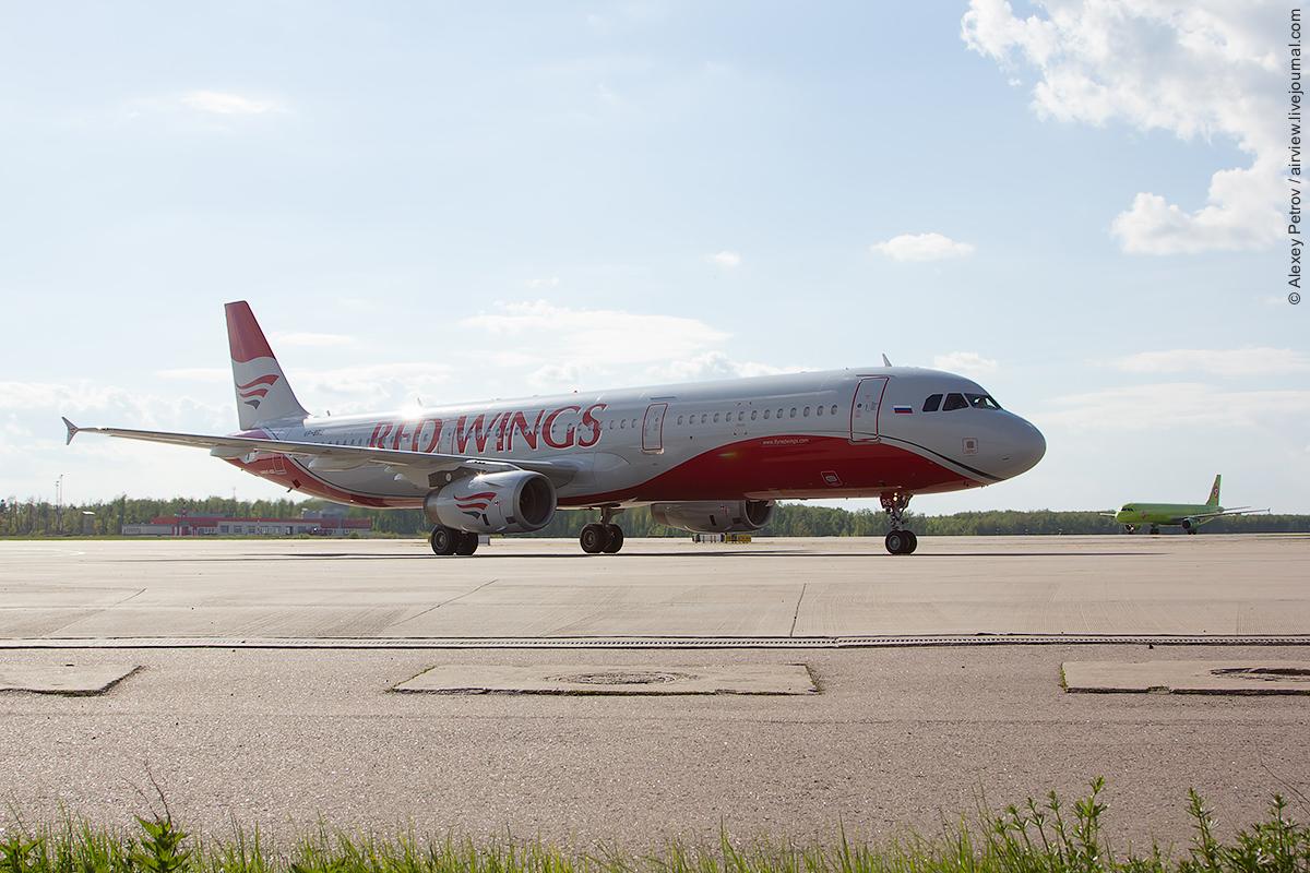 Авиакомпания Red Wings оседлала Airbus A321!