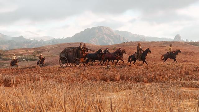 Red Dead Redemption 2 - Caravan